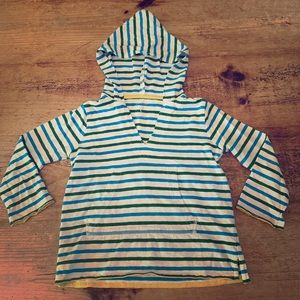Crewcuts Striped Pullover Hoodie
